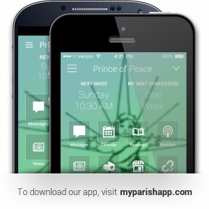 To download our app, visit myparishapp.com